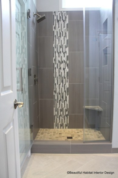 Luxury Makeover To Small Shower Alcove - Contemporary within Tiled Shower Ideas For Small Bathrooms