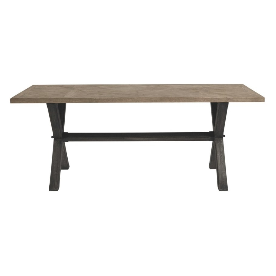 Mango Wood Dining Table W 200Cm Ellis | Maisons Du Monde intended for Mango Wood Dining Table