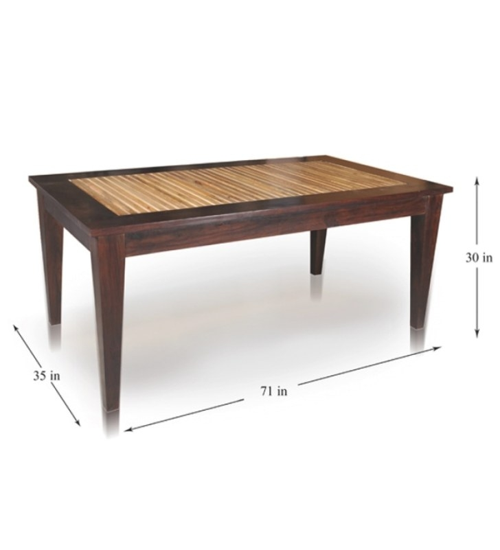 Mango Wood Dining Tablemudramark Online - Contemporary intended for Mango Wood Dining Table