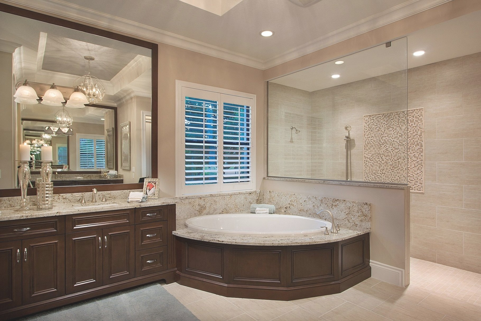 Master Bathroom At Emerald Homes Mirabella Model At with What Is A Florida Bathroom