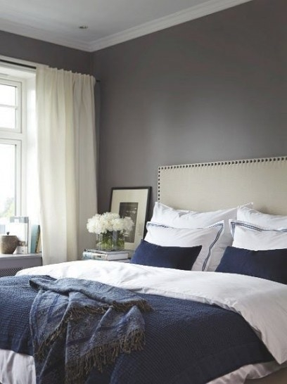 Master Bedroom Slettvoll. | Slettvoll | Home Sweet Home with regard to Blue Grey And White Bedroom