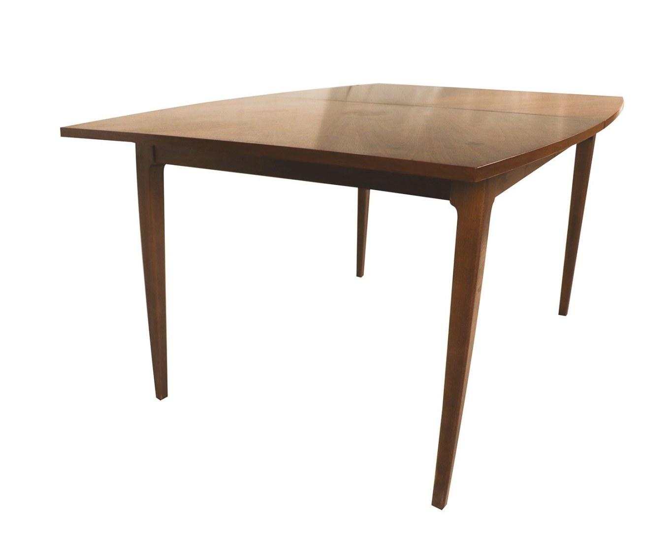 Mid-Century Modern American Of Martinsville Walnut Dining with regard to Mid Century Dining Table