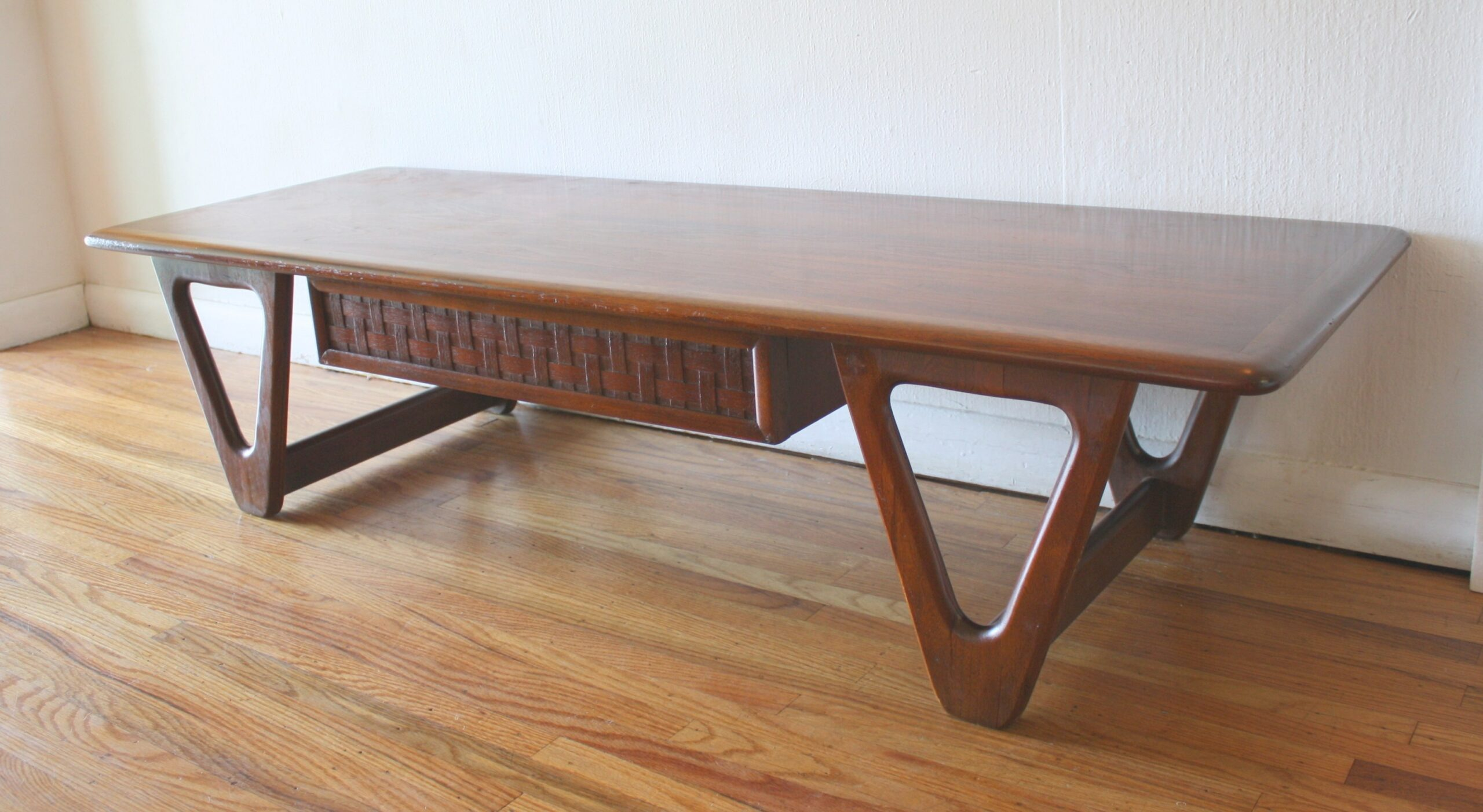 Mid Century Modern Coffee Table And Side End Table From for Mid Century Modern Side Table