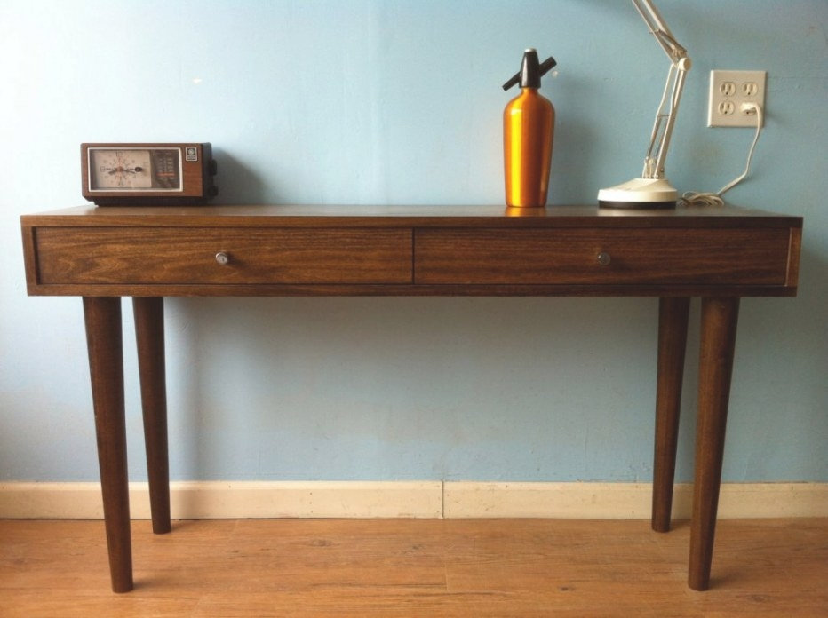 Mid Century Modern Console Table Ideas : All Furniture throughout Mid Century Modern Console Table