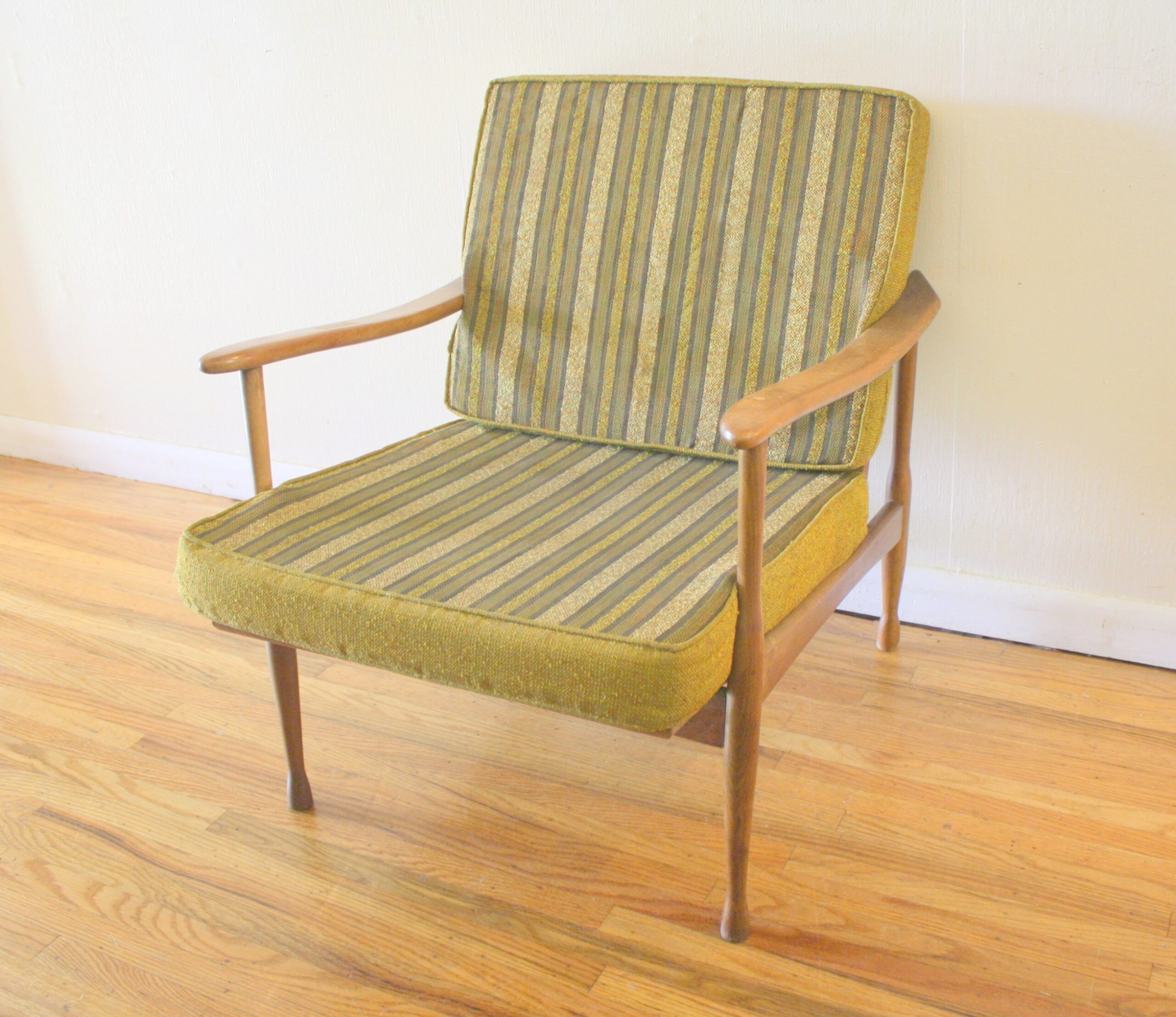 Mid Century Modern Danish Arm Lounge Chair | Picked Vintage regarding Mid Century Lounge Chair