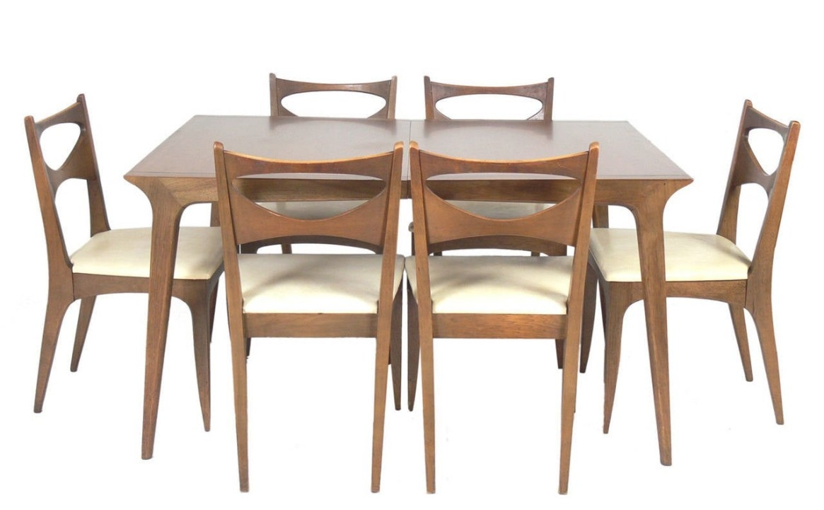 Mid Century Modern Dining Tablejohn Van Koert For intended for Mid Century Dining Table