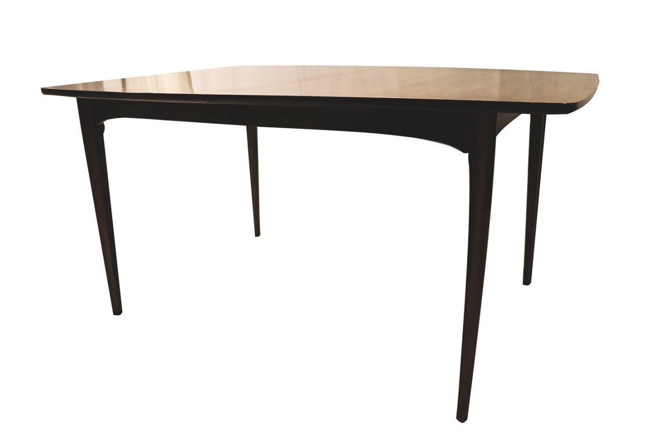 Mid Century Modern Expandable Dining Table with regard to Mid Century Dining Table