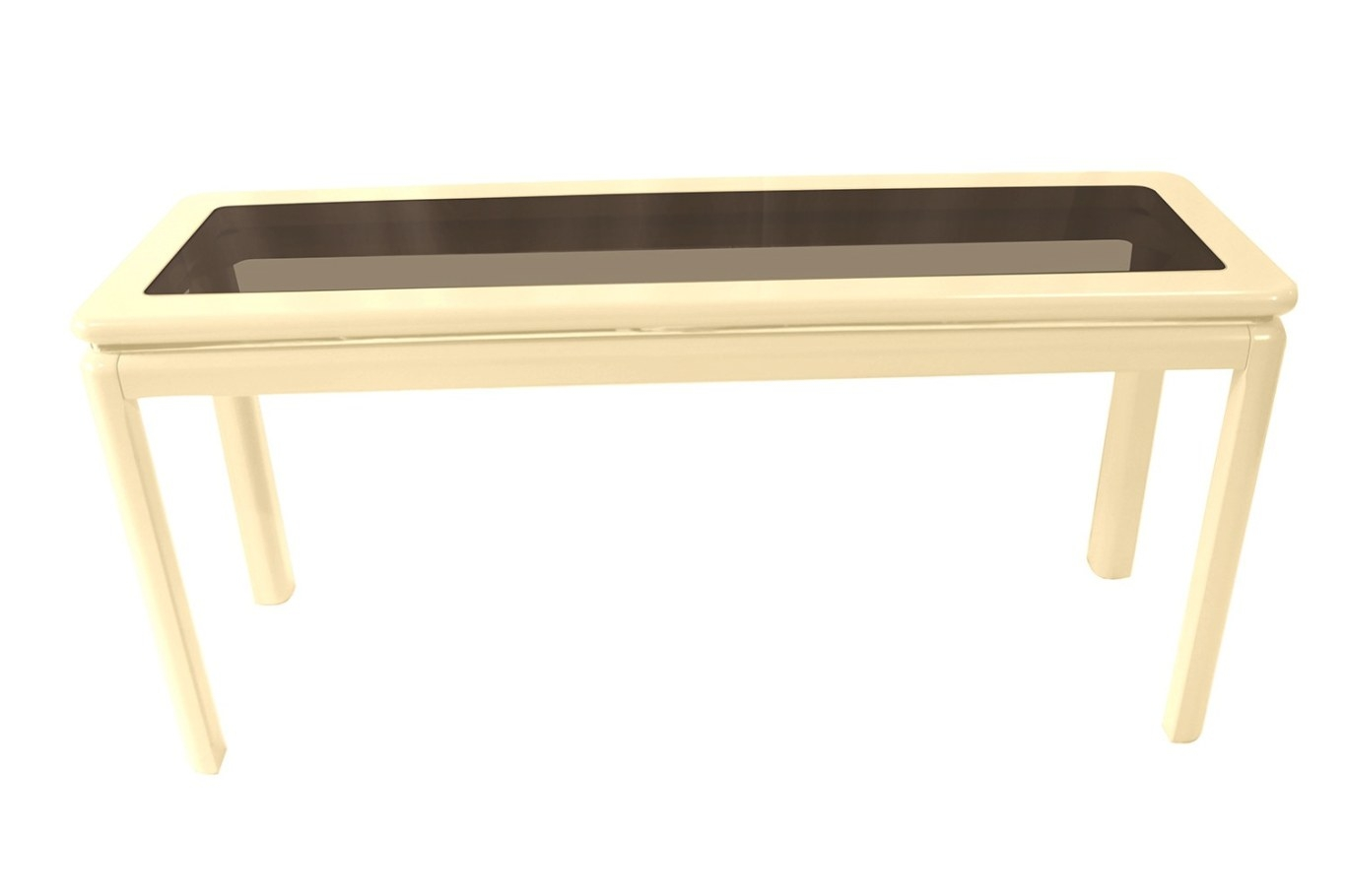Mid Century Modern Lacquered Console Table Lane Furniture regarding Mid Century Modern Console Table