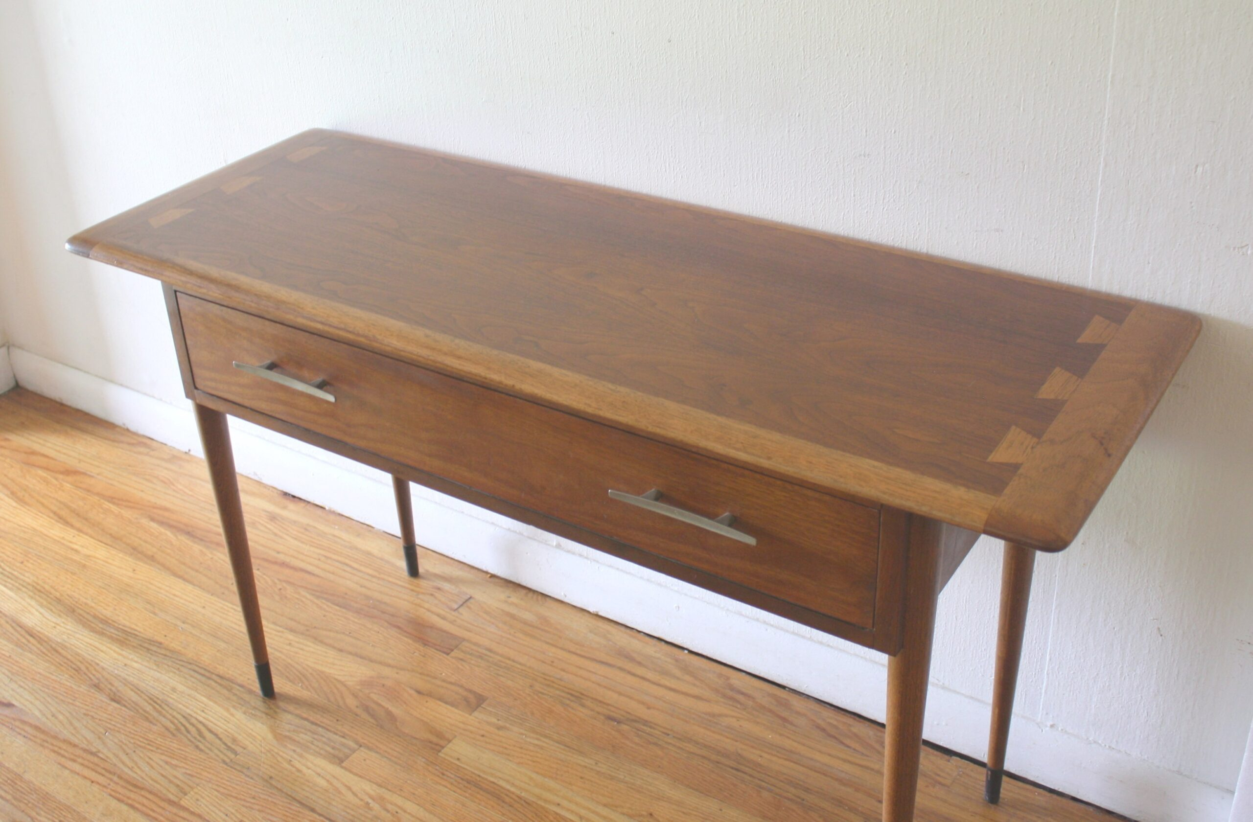Mid Century Modern Lane Acclaim Console Table | Picked Vintage regarding Mid Century Modern Console Table