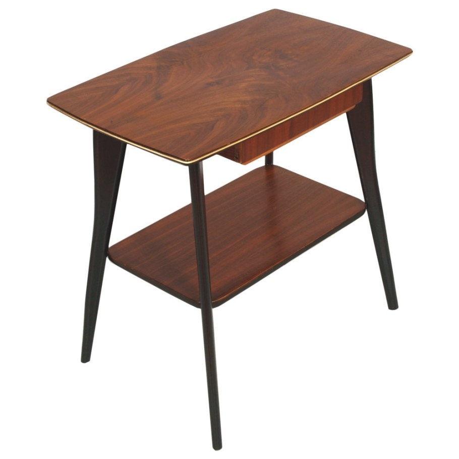 Mid Century Modern Little Table Console Tavolino Vintage regarding Mid Century Modern Console Table