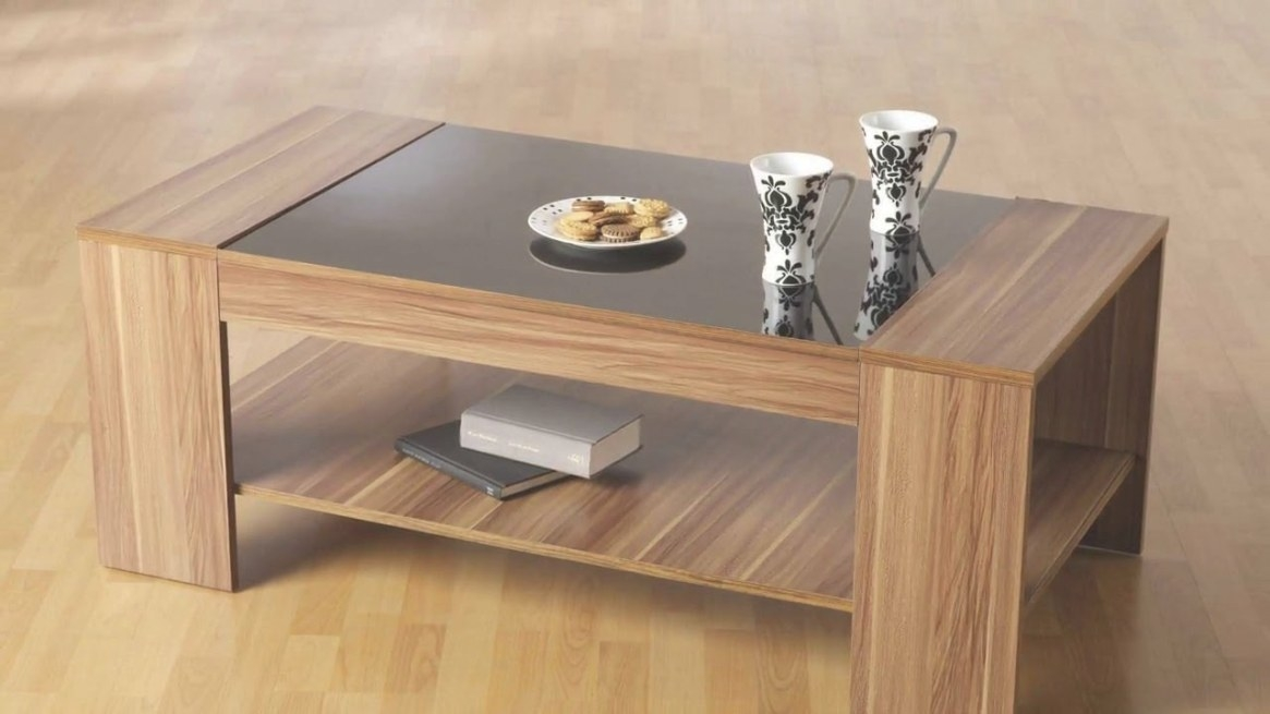 Modern Wood And Glass Coffee Table Designs - Youtube pertaining to Wood And Glass Coffee Table