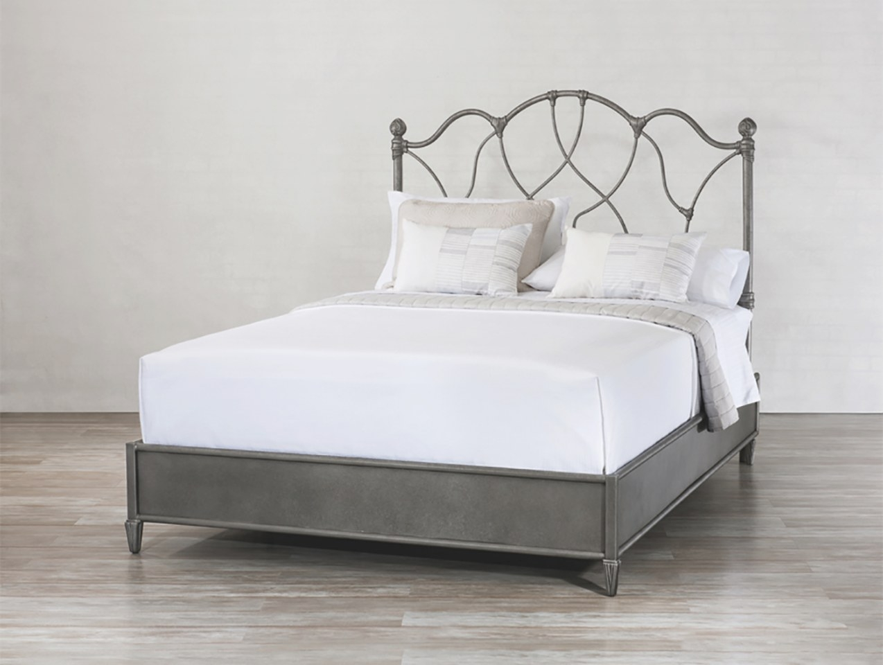 Morsley Surround Iron Bedwesley Allen | Sleepworks intended for Wesley Allen Iron Beds