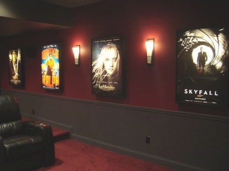 Movie Poster Light Box Display Frame Cinema Lightbox Light regarding Light Up My Home