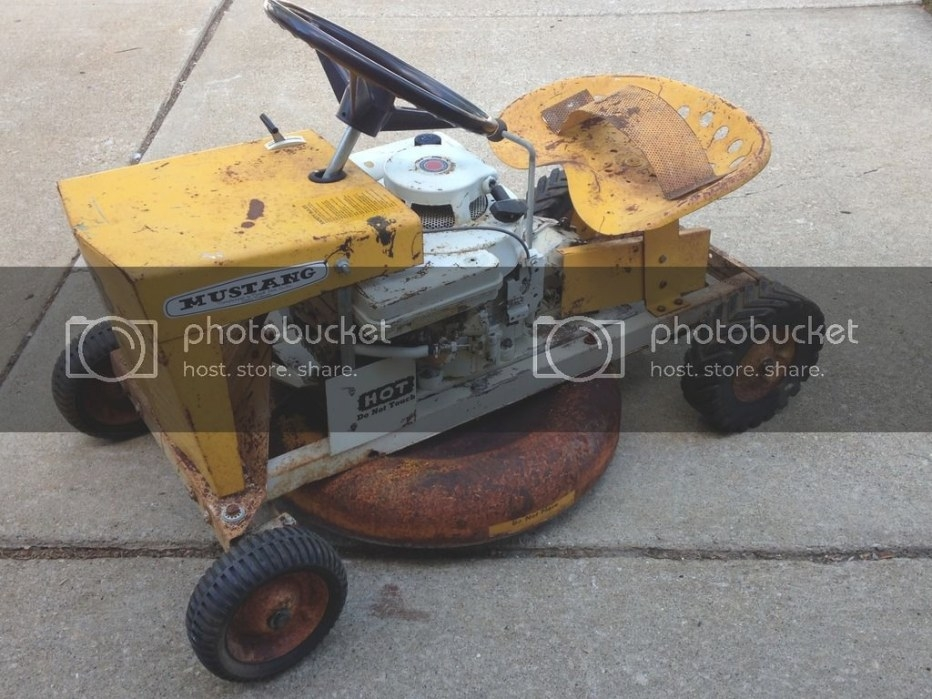 Mowett Mustang 248 Restoration - Mytractorforum - The within Briggs And Stratton Lawn Mower Won'T Start After Sitting
