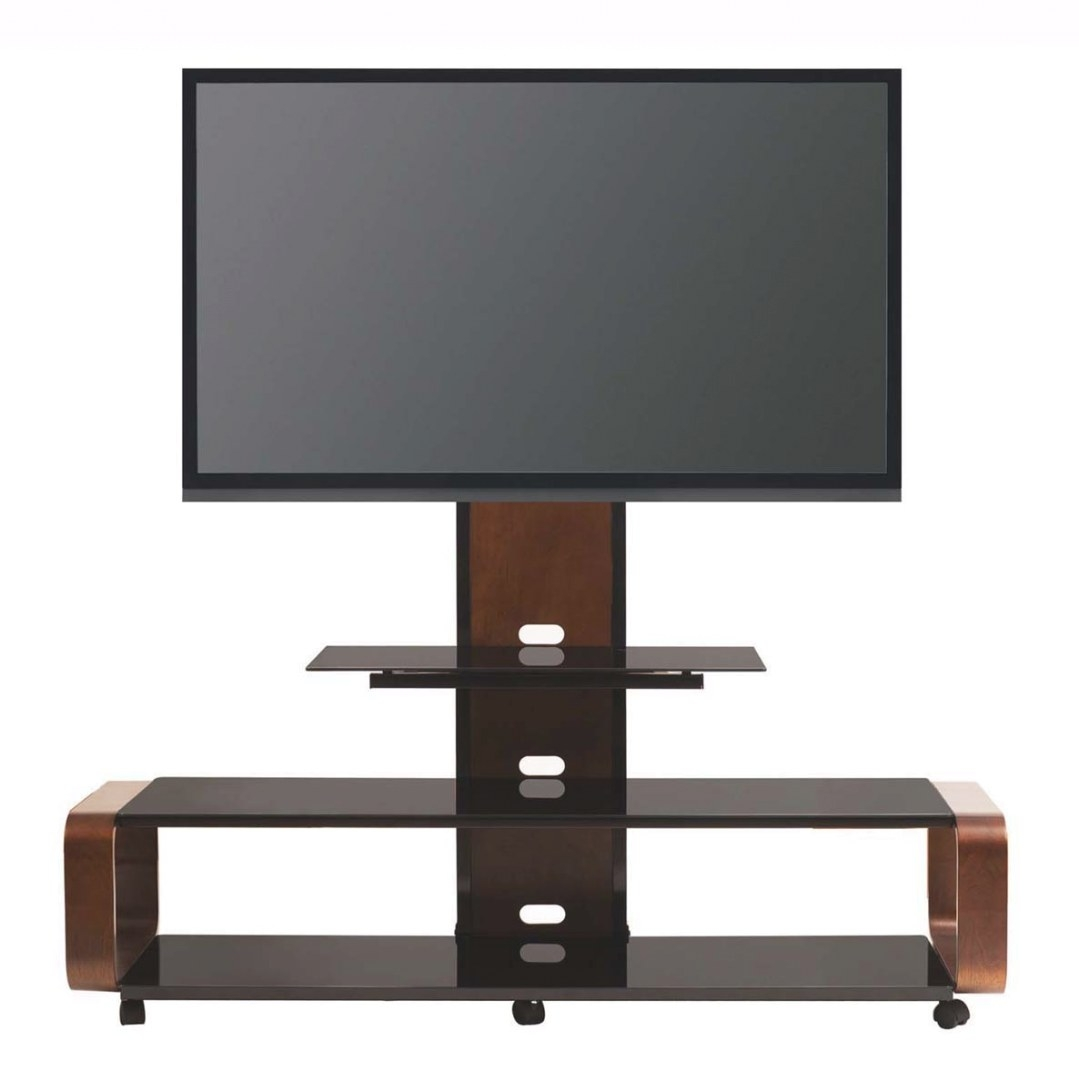 Multi-Function Tv Stand W/Mount & Wheel For 35 45 50 60 65 with 80 Inch Tv Stand
