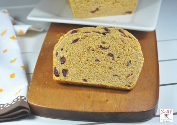 Multigrain Pumpkin Cranberry Bread For Baking Partners pertaining to S&W Kitchens