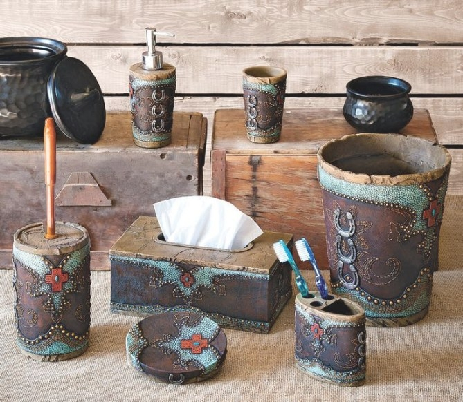 Native American Bathroom Accessories Decor Cafepress with Turquoise And Brown Bathroom