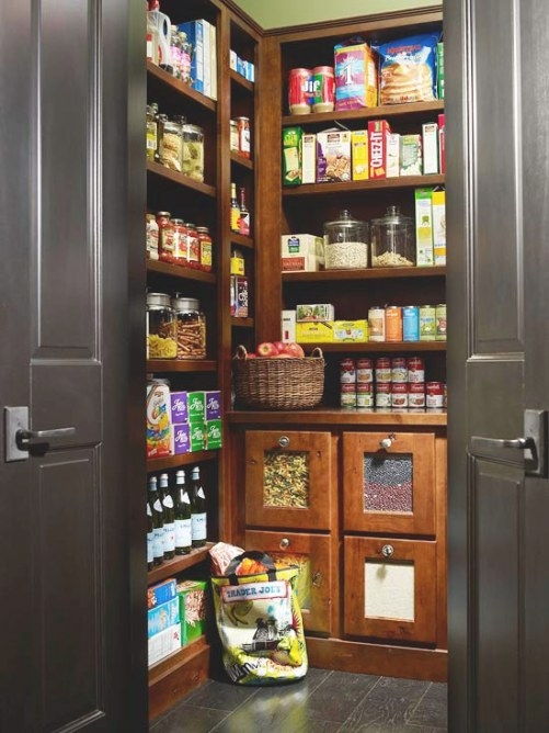 New Home Interior Design: Kitchen Pantry Design Ideas inside Pantry Ideas For Kitchens