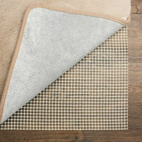 Non Slip Area Rug Pad 5X8 Rug Pad Carpet Gripper For Any pertaining to Anchor Grip Rug Pad