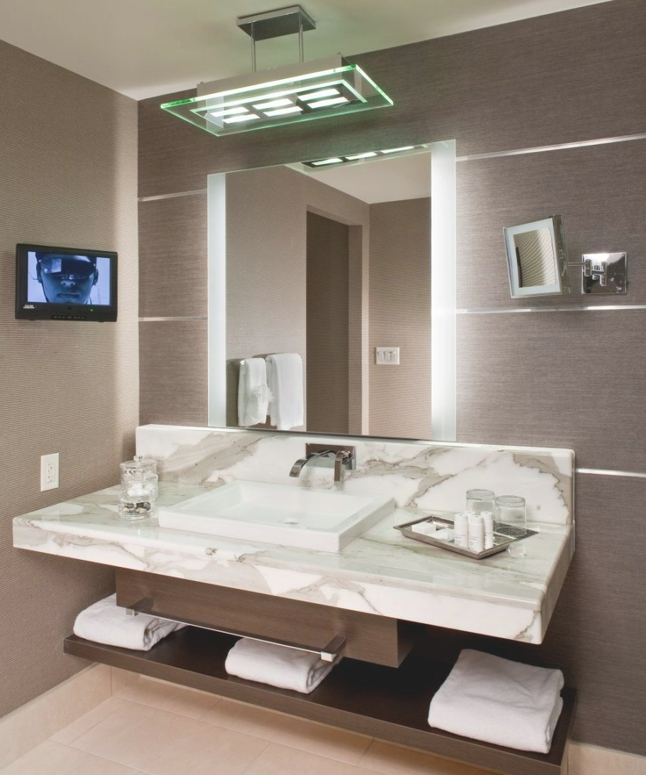 Novo™ Led Lighted Mirror | Electric Mirror® pertaining to Led Lighted Mirrors Bathrooms