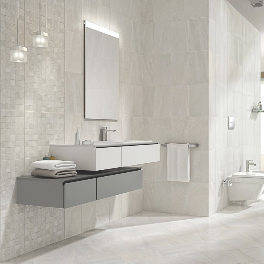 Oceania Stone White Mosaic Wall Tiles | Victorian Plumbing regarding White Marble Tile Bathroom