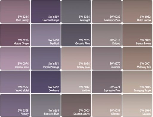 Paint For Walls - Buscar Con Google | Purple Paint Colors with What Colors Go With Purple