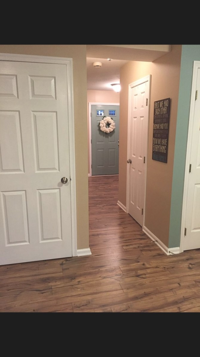 Pergo Max Laminate Floors, Providence Hickory, Our Home pertaining to Pergo Flooring In Bathroom