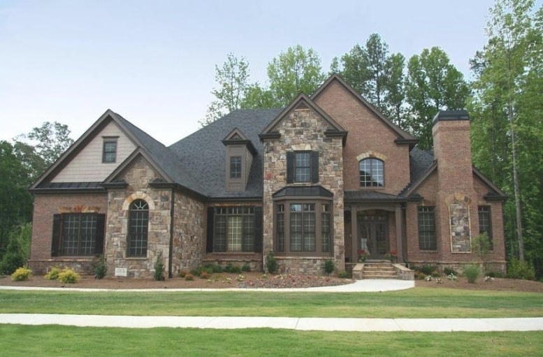 Photos Of Houses With Brick Stone Combinations in Brick And Stone Homes