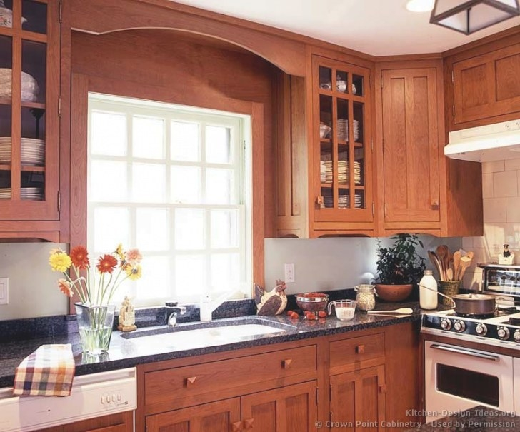 Pictures Of Kitchens - Traditional - Medium Wood Kitchens for Cherry Wood Cabinet Kitchens