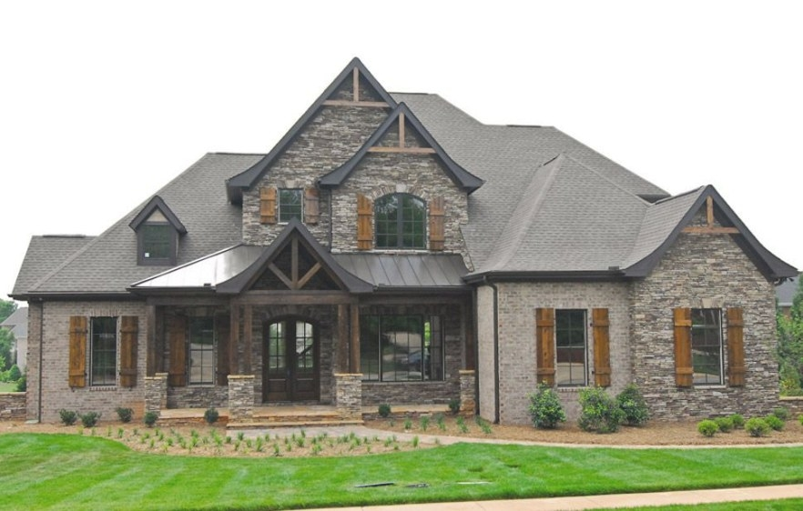 Pin On Exterior Designs for Brick And Stone Homes