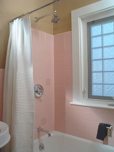 Pin On Pink Bathfor A Guy within Pink And Brown Bathroom