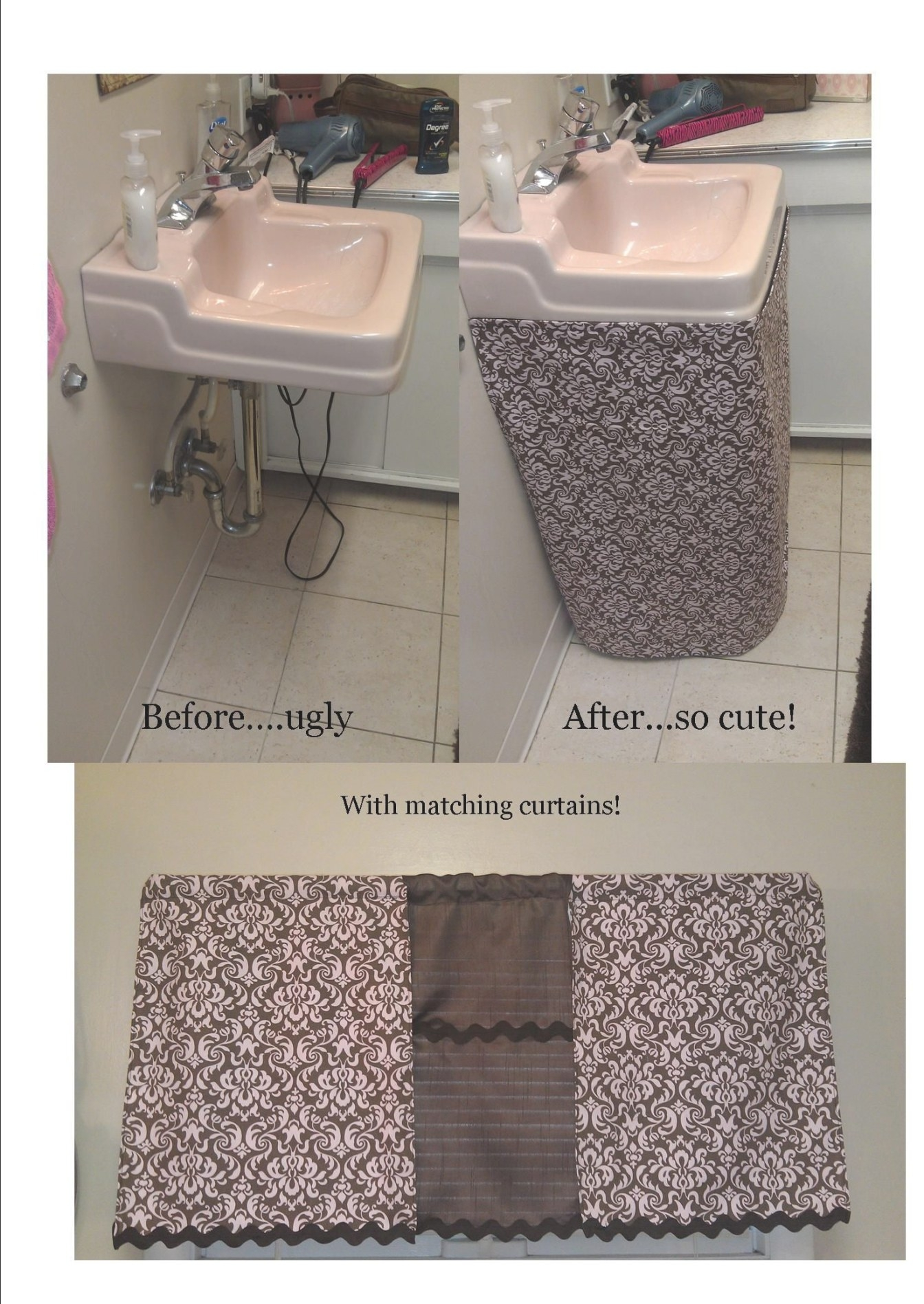 Pink And Brown Bathroom (Ways To Make Bathroom Sink Look pertaining to Pink And Brown Bathroom