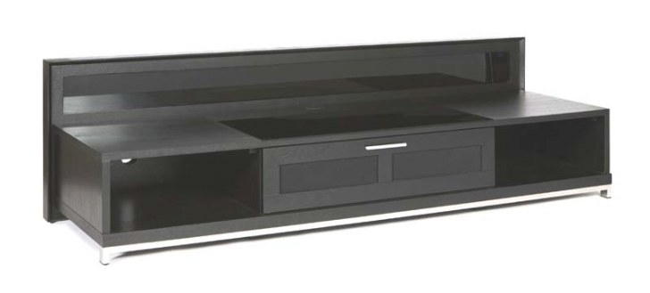 Plateau Valencia Series Backlit Modern Wood Tv Stand For regarding 80 Inch Tv Stand