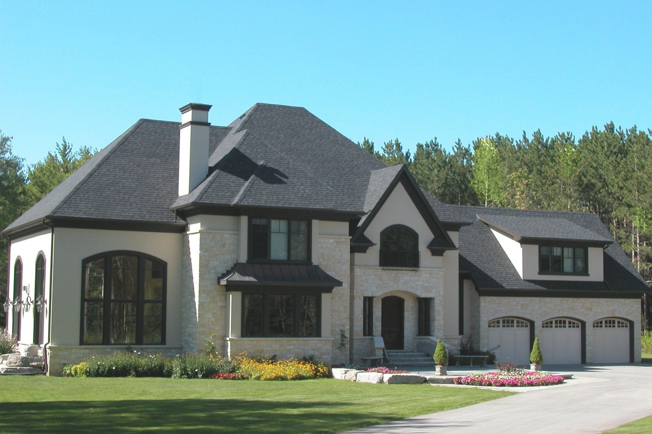 Portfolio | Stucco Homes, Exterior Brick, Brick Exterior House within Stucco And Stone Homes