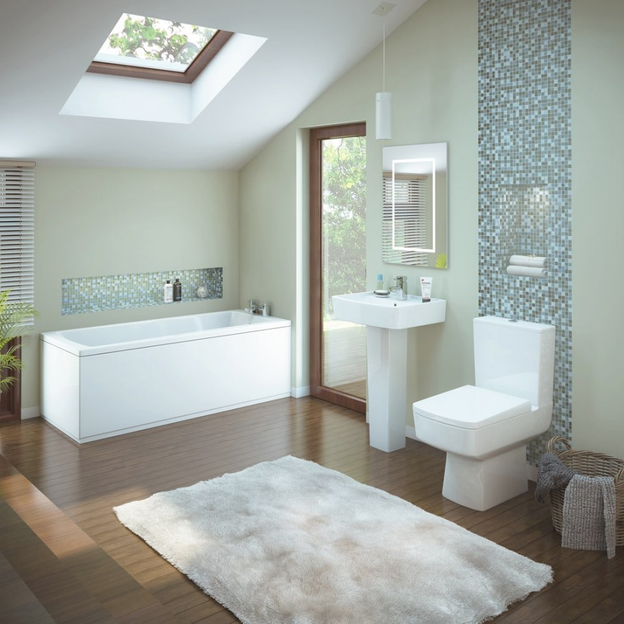 Premier Bliss 5 Piece Bathroom Suite At Victorian Plumbing Uk within Picture Of A Bathroom