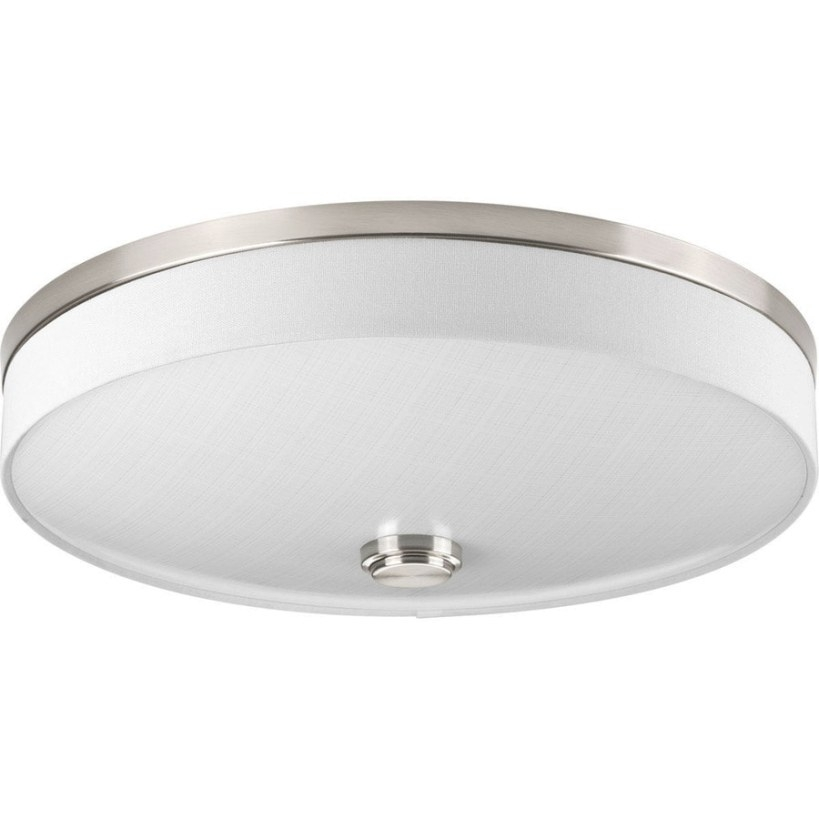 Progress Lighting Weaver Led 16-In Brushed Nickel intended for Flush Mount Ceiling Lights
