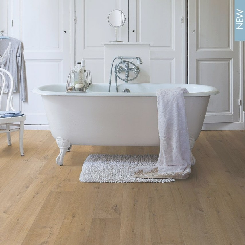 Quick-Step Impressive Ultra Soft Oak Natural - Laminate within Pergo Flooring In Bathroom
