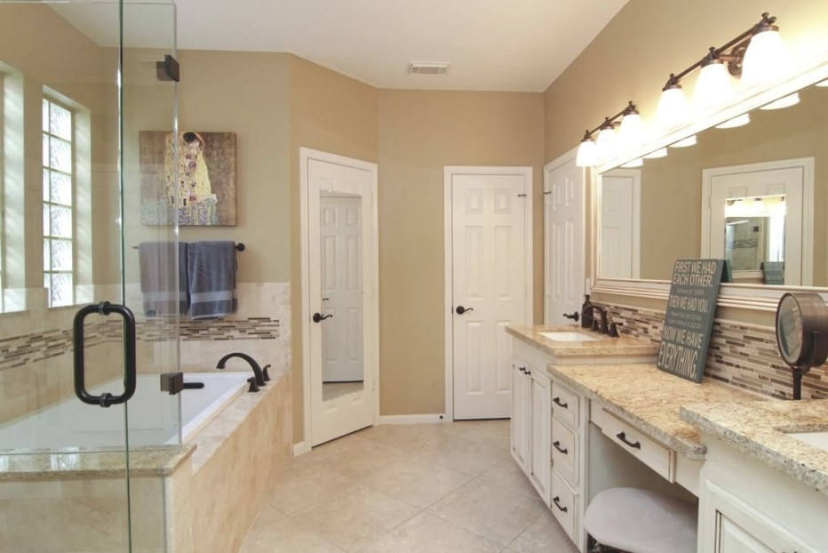 Rainforest Granite Bathroom - Google Search | Beige for Cream And White Bathroom