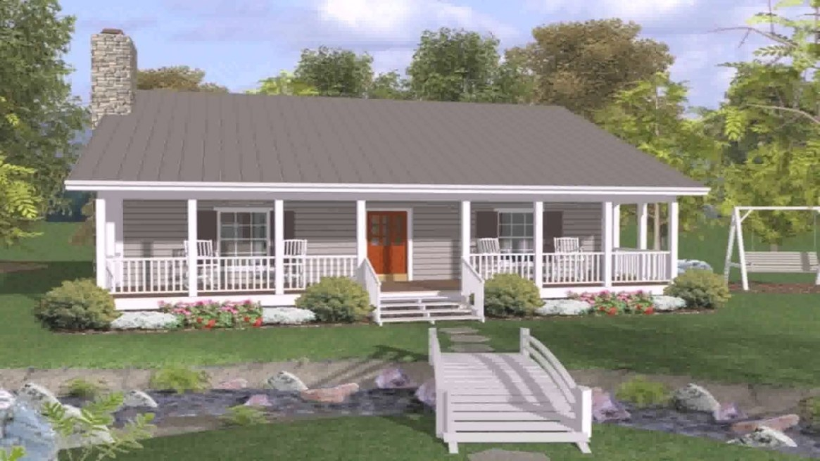 Ranch House Plans With Front And Back Porch (See with regard to Back Porch Ideas For Ranch Style Homes