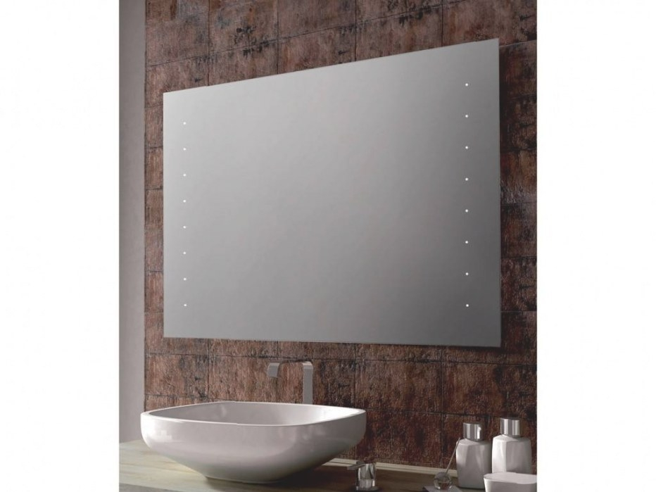 Rectangular Mirror Neon For Bathroom Ellen with regard to Rectangular Mirrors For Bathroom