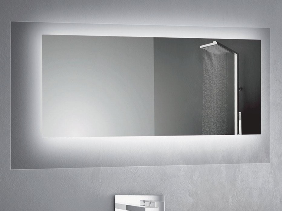 Rectangular Or Square Mirror Led For Bathroom Crystal in Rectangular Mirrors For Bathroom