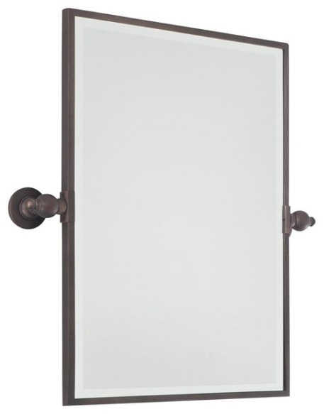 Rectangular Tilt Bathroom Mirror - 3 Finishes Bathroom-Mirrors intended for Rectangular Mirrors For Bathroom