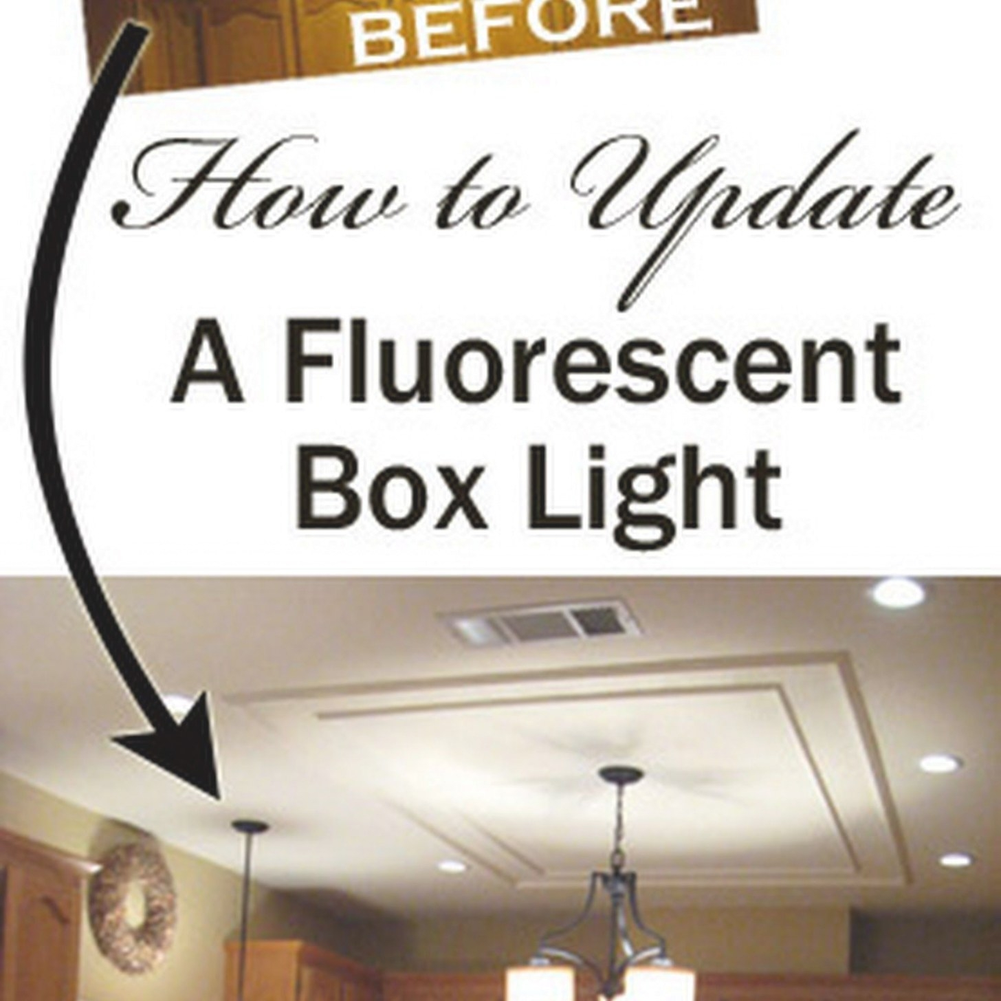 Removing A Fluorescent Kitchen Light Box In 2019 | Kitchen inside Replace Fluorescent Light Fixture In Kitchen