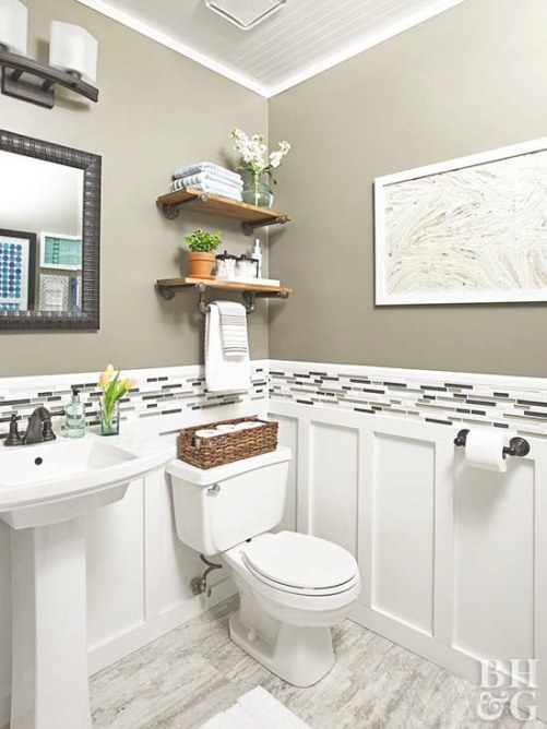 Renovation Rescue: Small Bathroom On A Budget with regard to Bathroom Remodeling Ideas For Small Bathrooms