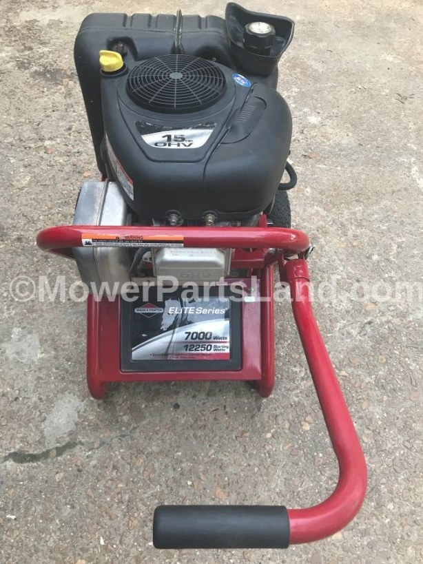 Replaces Briggs And Stratton Model 01894 Generator with Briggs And Stratton Lawn Mower Starts Then Dies