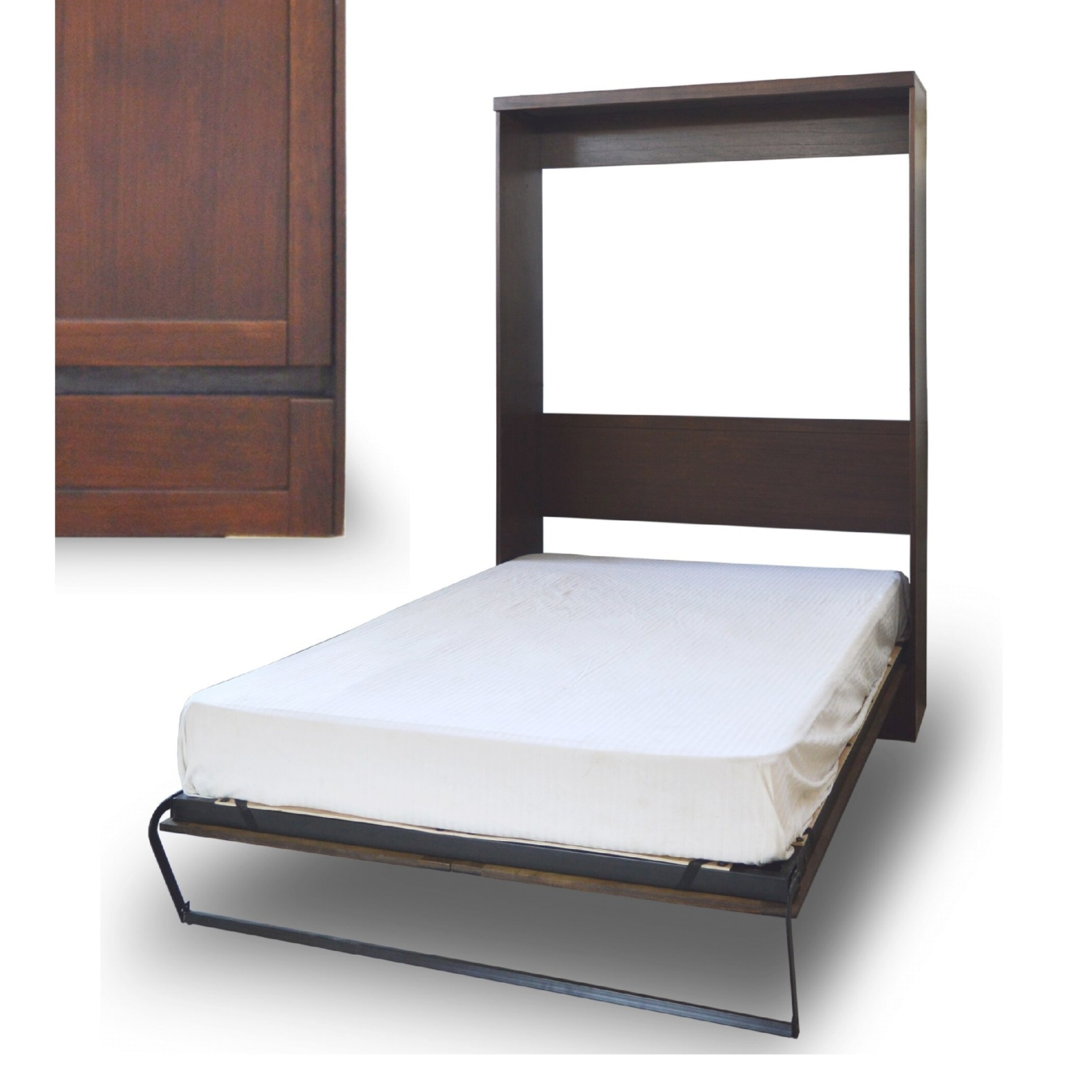 Roomandloft Andrew Extra-Long Twin Murphy Bed | Wayfair with regard to Extra Long Twin Bed