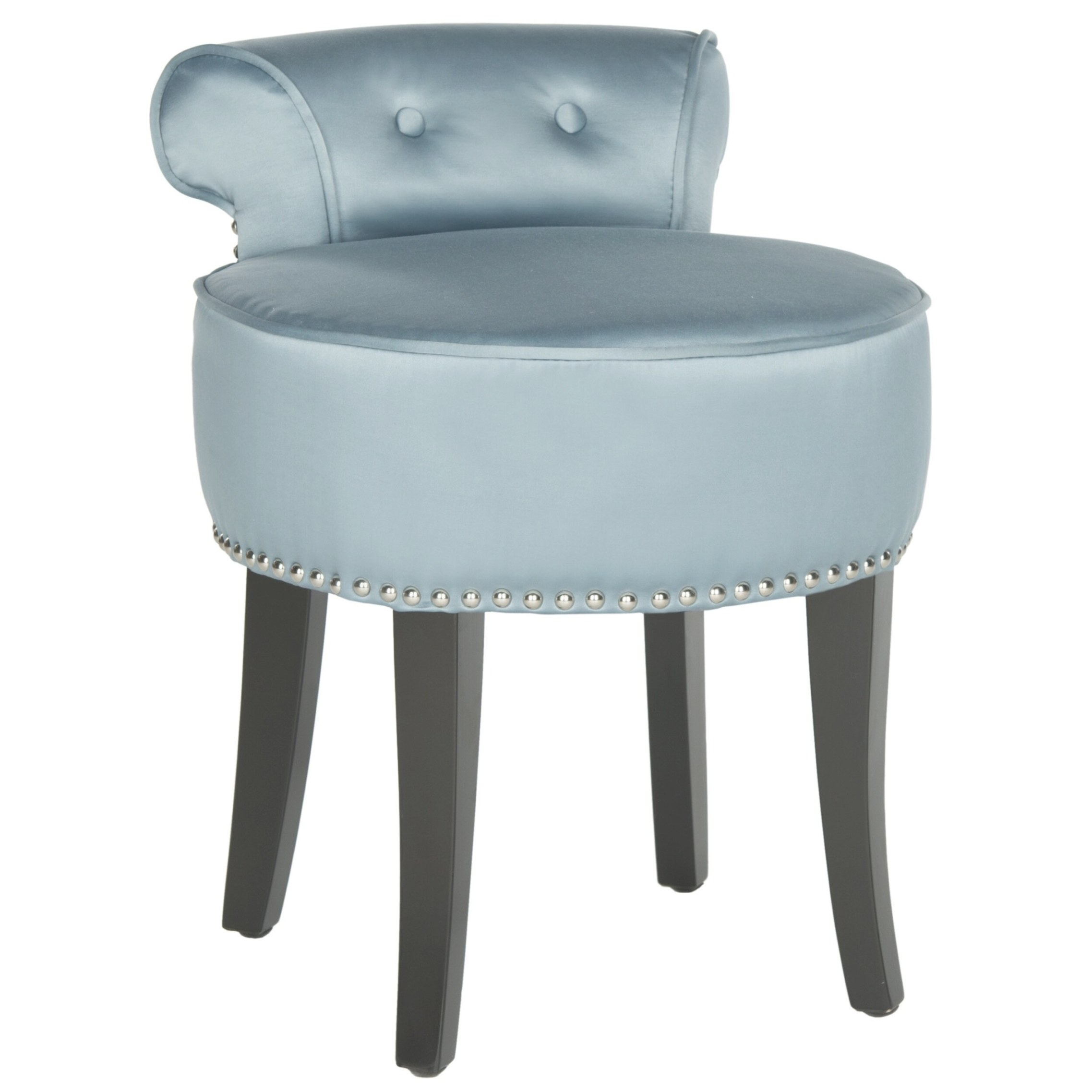 Safavieh Georgia Vanity Stool & Reviews | Wayfair regarding Vanity Seats For Bathrooms
