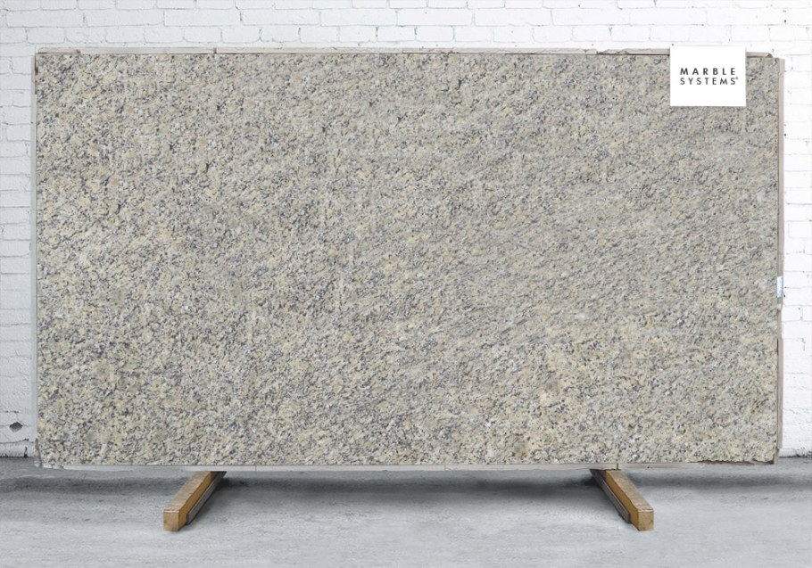Santa Cecilia Light Polished Granite Slab Random 1 1/4 for Santa Cecilia Light Granite