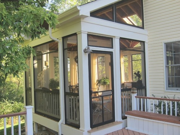 Screened Porch Sanctuary - Traditional - Porch - Chicago throughout Screened In Porch Ideas