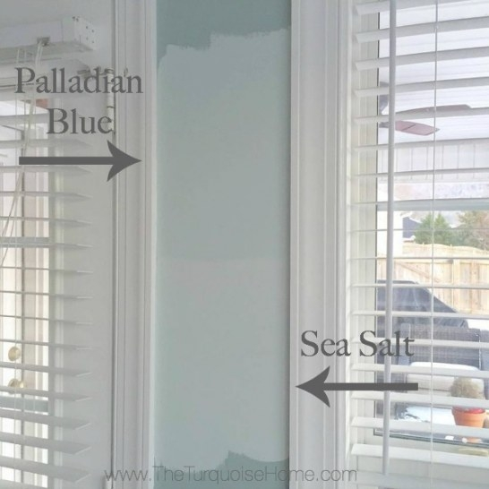 Sea Salt Vs. Palladian Blue - Choose Paint Colors Without intended for Benjamin Moore Sea Salt